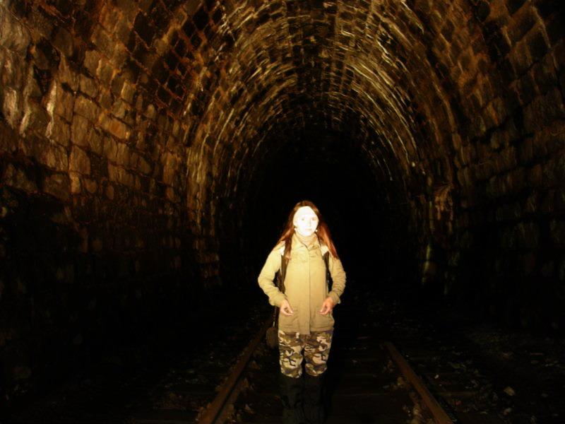 Kowary - w tarym tunelu