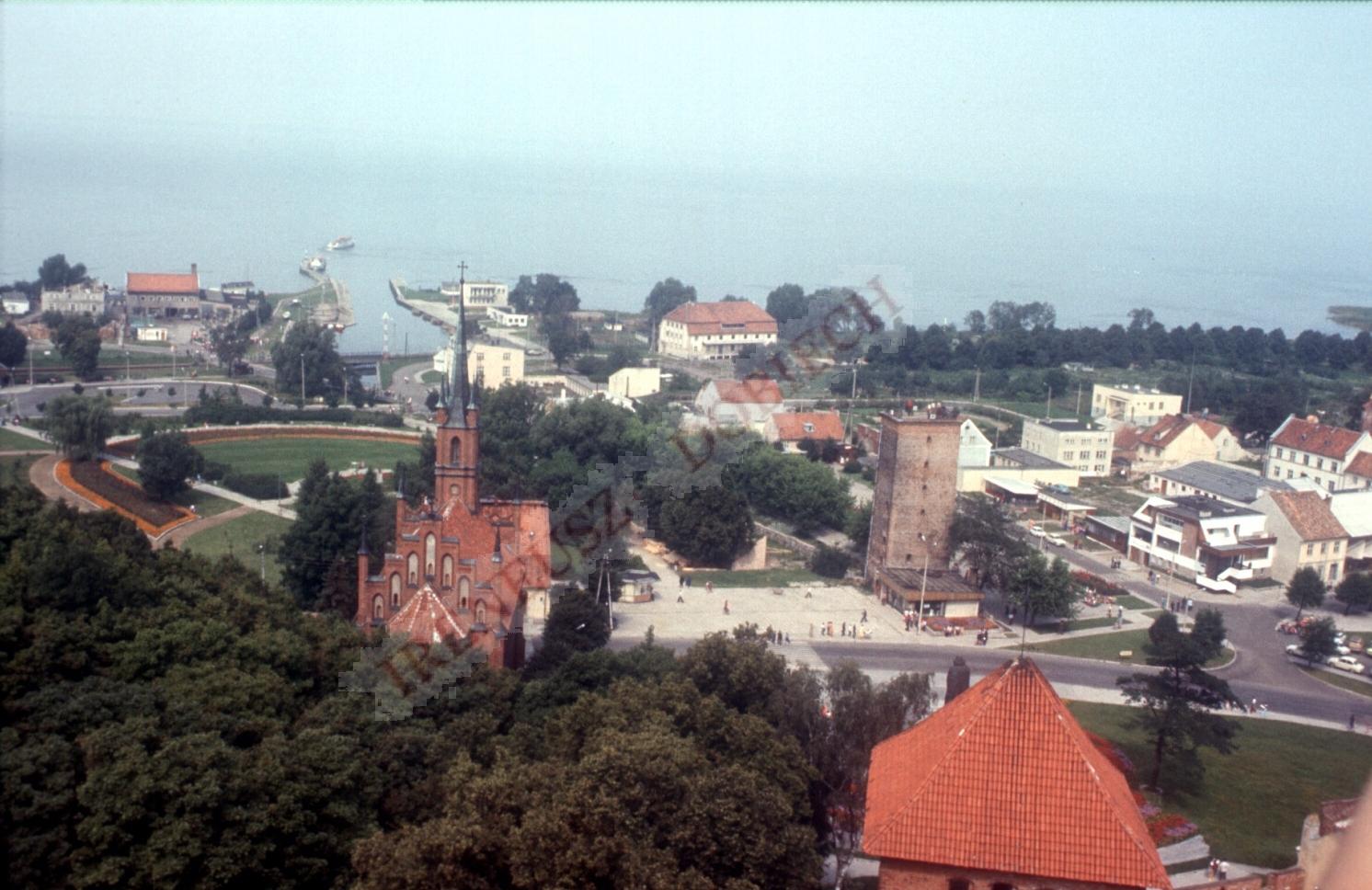 Wejście do portu Frombork