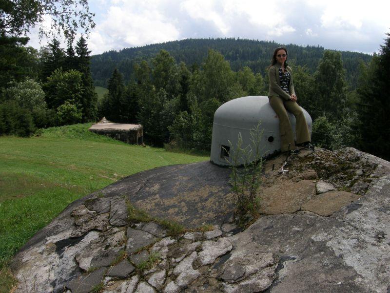 Czechy na schronie K-S-32