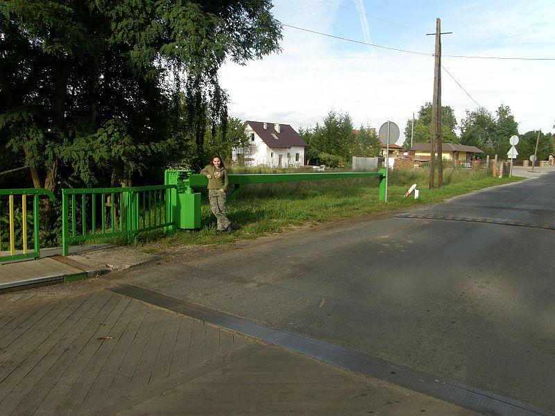 Ołobok - most przesuwny