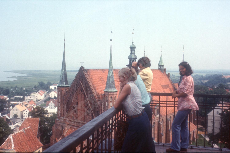 Widok z balkonu Frombork