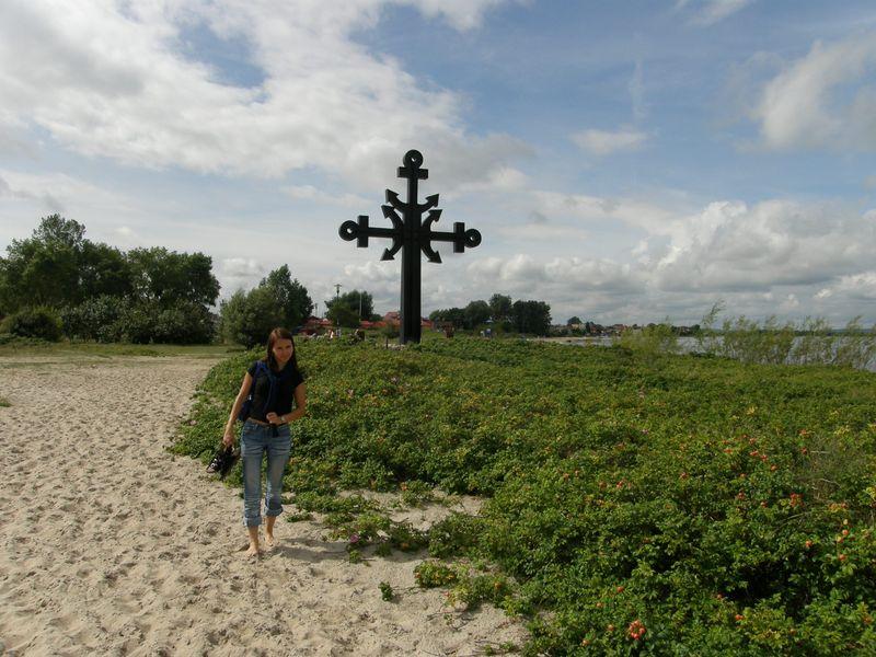 Mierzeja Rewska-krzyż